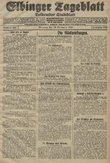 Elbinger Tageblatt, Nr. 264 Dienstag 10 November 1925