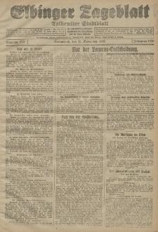 Elbinger Tageblatt, Nr. 273 Sonnabend 21 November 1925
