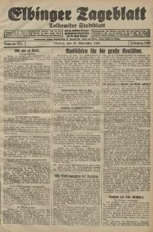 Elbinger Tageblatt, Nr. 274 Montag 23 November 1925