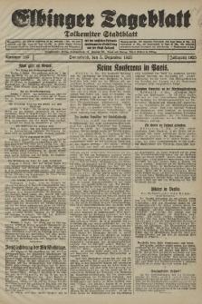 Elbinger Tageblatt, Nr. 285 Sonnabend 5 Dezember 1925