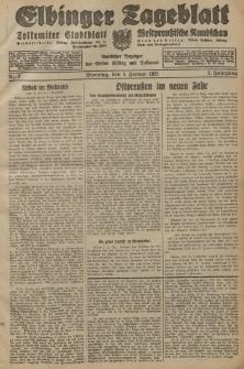Elbinger Tageblatt, Nr. 2 Dienstag 3 Januar 1928, 5. Jahrgang