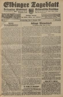 Elbinger Tageblatt, Nr. 4 Donnerstag 5 Januar 1928, 5. Jahrgang
