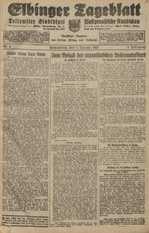 Elbinger Tageblatt, Nr. 6 Sonnabend 7 Januar 1928, 5. Jahrgang