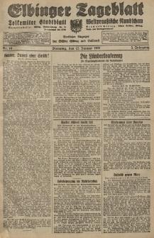 Elbinger Tageblatt, Nr. 14 Dienstag 17 Januar 1928, 5. Jahrgang