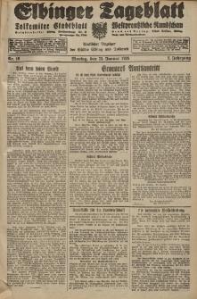 Elbinger Tageblatt, Nr. 19 Montag 23 Januar 1928, 5. Jahrgang