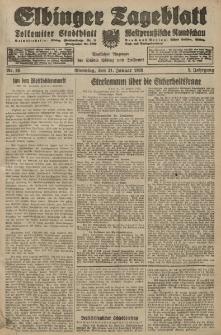 Elbinger Tageblatt, Nr. 26 Dienstag 31 Januar 1928, 5. Jahrgang
