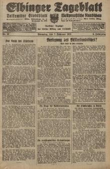 Elbinger Tageblatt, Nr. 32 Dienstag 7 Februar 1928, 5. Jahrgang