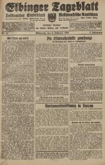 Elbinger Tageblatt, Nr. 33 Mittwoch 8 Februar 1928, 5. Jahrgang