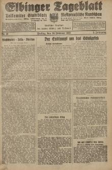 Elbinger Tageblatt, Nr. 35 Freitag 10 Februar 1928, 5. Jahrgang