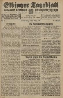 Elbinger Tageblatt, Nr. 52 Donnerstag 1 März 1928, 5. Jahrgang