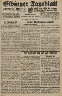 Elbinger Tageblatt, Nr. 53 Freitag 2 März 1928, 5. Jahrgang