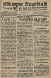 Elbinger Tageblatt, Nr. 54 Sonnabend 3 März 1928, 5. Jahrgang