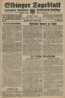 Elbinger Tageblatt, Nr. 55 Montag 5 März 1928, 5. Jahrgang