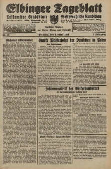 Elbinger Tageblatt, Nr. 56 Dienstag 6 März 1928, 5. Jahrgang