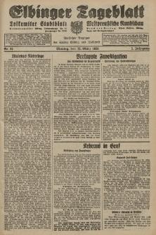 Elbinger Tageblatt, Nr. 61 Montag 12 März 1928, 5. Jahrgang
