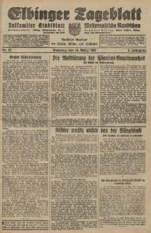 Elbinger Tageblatt, Nr. 62 Dienstag 13 März 1928, 5. Jahrgang