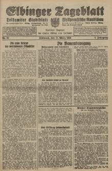 Elbinger Tageblatt, Nr. 69 Mittwoch 21 März 1928, 5. Jahrgang