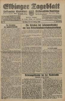 Elbinger Tageblatt, Nr. 71 Freitag 23 März 1928, 5. Jahrgang