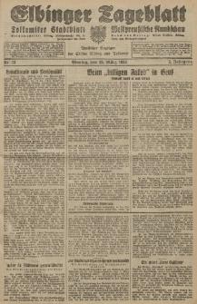 Elbinger Tageblatt, Nr. 73 Montag 26 März 1928, 5. Jahrgang