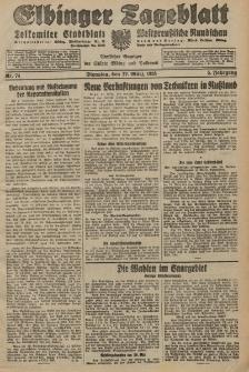 Elbinger Tageblatt, Nr. 74 Dienstag 27 März 1928, 5. Jahrgang