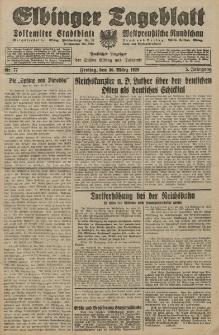 Elbinger Tageblatt, Nr. 77 Freitag 30 März 1928, 5. Jahrgang