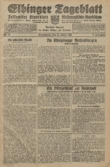 Elbinger Tageblatt, Nr. 78 Sonnabend 31 März 1928, 5. Jahrgang