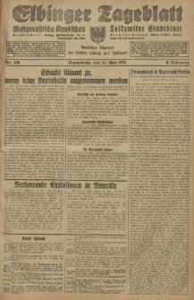 Elbinger Tageblatt, Nr. 109 Sonnabend 11 Mai 1929, 6. Jahrgang