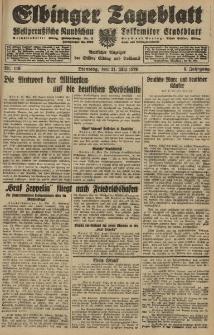 Elbinger Tageblatt, Nr. 116 Dienstag 21 Mai 1929, 6. Jahrgang