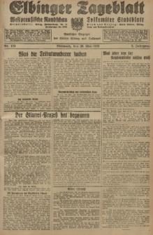 Elbinger Tageblatt, Nr. 123 Mittwoch 29 Mai 1929, 6. Jahrgang