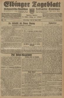 Elbinger Tageblatt, Nr. 128 Dienstag 4 Juni 1929, 6. Jahrgang