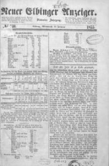 Neuer Elbinger Anzeiger 1855
