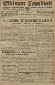 Elbinger Tageblatt, Nr. 136 Donnerstag 13 Juni 1929, 6. Jahrgang