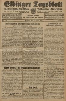 Elbinger Tageblatt, Nr. 137 Freitag 14 Juni 1929, 6. Jahrgang