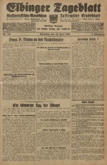 Elbinger Tageblatt, Nr. 140 Dienstag 18 Juni 1929, 6. Jahrgang