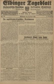 Elbinger Tageblatt, Nr. 141 Mittwoch 19 Juni 1929, 6. Jahrgang