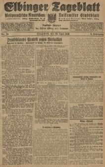 Elbinger Tageblatt, Nr. 150 Sonnabend 29 Juni 1929, 6. Jahrgang