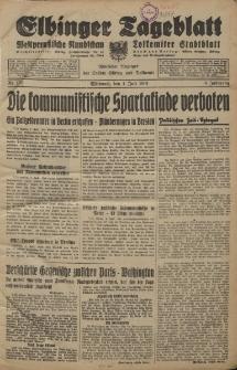 Elbinger Tageblatt, Nr. 151 Mittwoch 1 Juli 1931, 8. Jahrgang