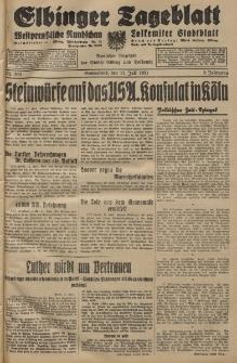 Elbinger Tageblatt, Nr. 160 Sonnabend 11 Juli 1931, 8. Jahrgang