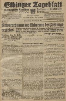 Elbinger Tageblatt, Nr. 164 Donnerstag 16 Juli 1931, 8. Jahrgang