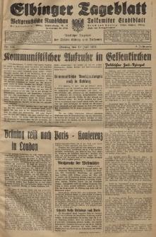 Elbinger Tageblatt, Nr. 165 Freitag 17 Juli 1931, 8. Jahrgang