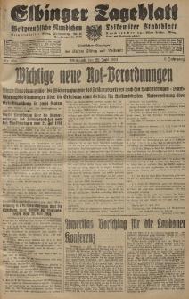 Elbinger Tageblatt, Nr. 169 Mittwoch 22 Juli 1931, 8. Jahrgang