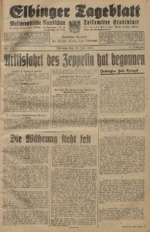 Elbinger Tageblatt, Nr. 173 Montag 27 Juli 1931, 8. Jahrgang