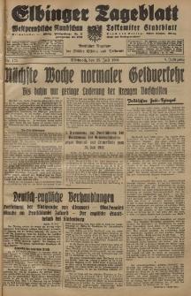 Elbinger Tageblatt, Nr. 175 Mittwoch 29 Juli 1931, 8. Jahrgang