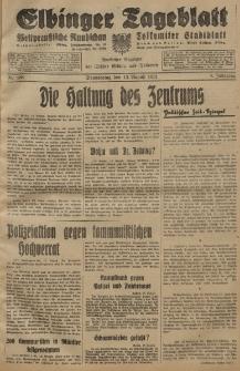Elbinger Tageblatt, Nr. 188 Donnerstag 13 August 1931, 8. Jahrgang