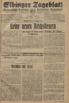 Elbinger Tageblatt, Nr. 203 Montag 31 August 1931, 8. Jahrgang