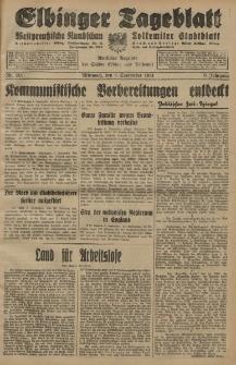 Elbinger Tageblatt, Nr. 211 Mittwoch 9 September 1931, 8. Jahrgang