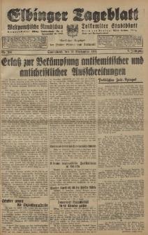 Elbinger Tageblatt, Nr. 220 Sonnabend 19 September 1931, 8. Jahrgang