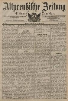 Altpreussische Zeitung, Nr. 154 Dienstag 4 Juli 1899, 51. Jahrgang