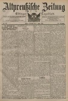 Altpreussische Zeitung, Nr. 157 Freitag 7 Juli 1899, 51. Jahrgang