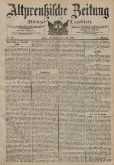 Altpreussische Zeitung, Nr. 158 Sonnabend 8 Juli 1899, 51. Jahrgang